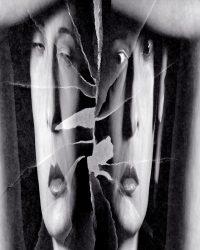 Metaportraits - donna manager allo specchio  /  ©Franco Donaggio, all rights reserved