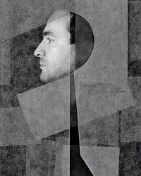 Metaportraits - fotografo in posa  /  © Franco Donaggio, all rights reserved