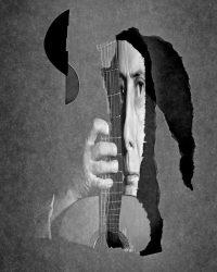 Metaportraits - il musicante  /  ©Franco Donaggio, all rights reserved