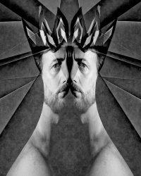 Metaportraits - il re  /  ©Franco Donaggio, all rights reserved