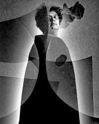 Metaportraits - l'Intellettuale  /  ©Franco Donaggio, all rights reserved
