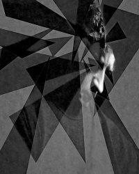 Metaportraits - uomo che pensa  /  ©Franco Donaggio, all rights reserved