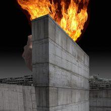 Morpheus' Spaces - muro del desiderio  / © Franco Donaggio, all rights reserved