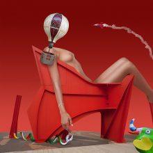 Morpheus' Spaces - la femme Parisienne  / © Franco Donaggio, all rights reserved