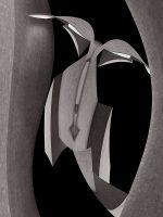 Sculptures - fanciulla innamorata  /  ©Franco Donaggio, all rights reserved