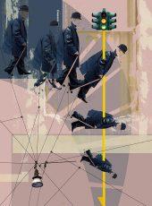 Urbis - geometria del cammino  /  ©Franco Donaggio, all rights reserved